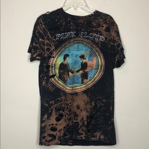 Pink Floyd - wish you were here distressed tee